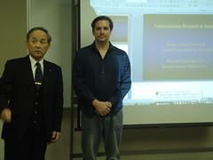 Dr. Tsuda, Eric Merola - ANP presentation