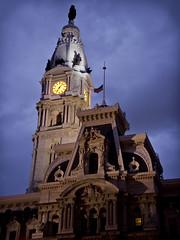 City Hall tower Philadelphia
