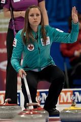 Rachel Homan (seasonofchampions) Tags: tim rachel winnipeg rings olympic olympics roar mb trials hortons curling homa 2013skip