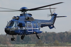 D-HEGH is seen here at Bonn Hangelar on the 16th of April 2008 (Frank Vorwerk/ HTDI-INT.com) Tags: france l1 super puma eurocopter as332 dhegh