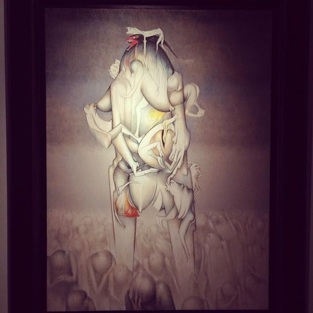 """""""Le Magicien Sans Age"""" 1978 • """"El Pasado Presente"""" de Gerardo Chávez #art #arte #arteenlima #artinlima #artista #artist"""