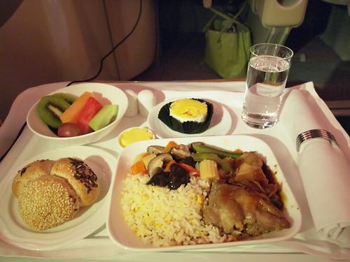 emirates機内食