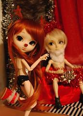 Christmas Contest - 'I wanna be your Rudolphina...' (Kirby  thecityofwonder) Tags: christmas sexy photo contest pullip yona arion papanoel obitsu rudolphina pullipcom pullipyona