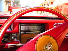 1974 Cadillac Eldorado elDeora (RS 1990) Tags: city red white window car leather wheel sedan radio logo mirror 1974 december label seat side rear engine front cadillac eldorado mascot ornament american adelaide hood pedals firestone manual friday disc bonnet import southaustralia hubcap 13th rare coupe caddy tyre franklinst whitewall cigarlighter uncommon 2door lefthanddrive glovebox 2013 piriest waymouthst eldeora