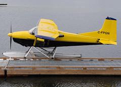 C-FPGN (John W Olafson) Tags: tail 180 seaplane cessna campbellriver 185 floatplane cfpgn
