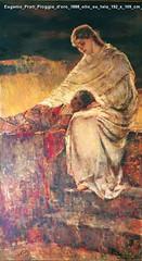 Eugenio Prati Pioggia d'oro 1888 olio su tela 192 x 109 cm Collezione privata