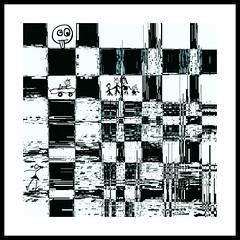Le damier. The checkerboard (Amiela40) Tags: auto life city family famille speed fun crazy child run busy imagination activity noise enfant ville fou vie vitesse bruit courir fantaisie activit contemporaryartsociety occup