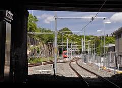 Beyond Lilyfield (john cowper) Tags: sydney newsouthwales lilyfield lightrailvehicle sydneylightrail lightrailextension lrv2109 lrv2110