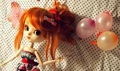 P1074726 (o_meri_o) Tags: birthday balloons doll pullip custom kiyomi akemi fullcustom asiancollectingdoll