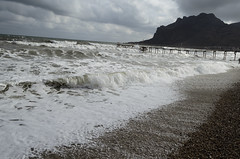 Kara-Dag Storm (Vitechps) Tags: sea storm clouds nice pretty ukraine crimea blacksea koktebel