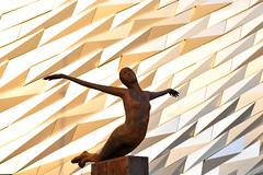 Titanic Figurine Belfast (David Nesbitt uk) Tags: belfast northernireland shipyard titanic sinking ulster whitestar harlandandwolff