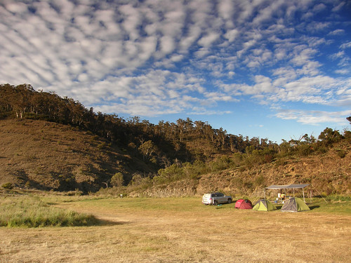 Yarrangobilly Campsite