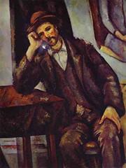 Paul Cezanne, 1902, Man Smoking A Pipe...illuminated pipe bowl (tobacco_days) Tags: art google thoughtful gm