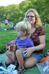 Everett & Mommy In Central Park (Joe Shlabotnik) Tags: nyc newyorkcity centralpark manhattan sue everett sheepmeadow proudparents 2013 september2013