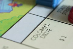 Wanna Play 03162014 (Orange Barn) Tags: game boardgame paleblue colonialdrive childsgame monopolyjunior 365daysincolour