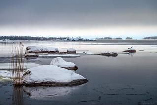 Open water at Mansikkalahti