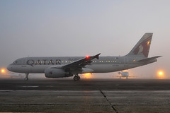 A7-AHA  A320-232  Qatar Airways (n707pm) Tags: painting airplane airport aircraft airline airbus dub a320 dublinairport qatarairways qtr eidw 320232 a7aha eirtech cn4110 11032014