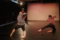 (fe) Tags: nyc ny brooklyn dance maria hillary flannel plaid choreography pearson triskelion volpe waxworks robertfoerster march2014 dainn