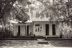 (SouthernHippie) Tags: old urban bw rural south rustic alabama southern americana charming selma deepsouth greekrevival oldsouth dallascounty precivilwar oldcahaba