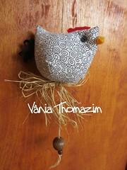 Galinha 1 (vaniathomazim) Tags: mobile galinha arte artesanato cozinha costura