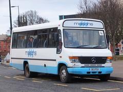 Masons B13PSV Derby (Guy Arab UF) Tags: bus buses mercedes benz derbyshire beaver glover independent masons 1998 derby vario plaxton o814 midicoach b13psv