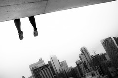 spend.your.days (jonathancastellino) Tags: roof abstract feet rooftop skyline architecture friend shoes view angle diagonal anniedillard rooftopping