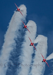 Red #6 (G&R) Tags: red canon eos hawk lincolnshire 300mm 7d arrows f4 raf scampton