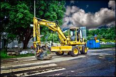 _DSC0519 (pettak) Tags: traktor grvmaskin ngby vsterort ngbyplan