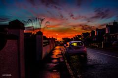 Into The Sun! (BGDL) Tags: landscape nocturnal prestwick bestshot nikond7000 afsnikkor18105mm13556g bgdl lightroom5 flickrlounge 52weeksin2015