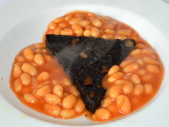 Black Pudding Triangle (Tony Worrall Foto) Tags: uk england food make menu yummy beans nice dish photos tag cook tasty plate eaten things images x steam made eat foodporn add meal taste dishes cooked tasted grub iatethis foodie flavour plated foodpictures ingrediants picturesoffood photograff foodophile 2015tonyworrall