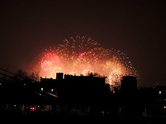 New Year's Eve, London (GothPhil) Tags: england london fireworks nye battersea 2015