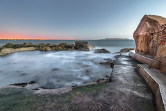 Sunrise in Sandycove, Dublin, Ireland