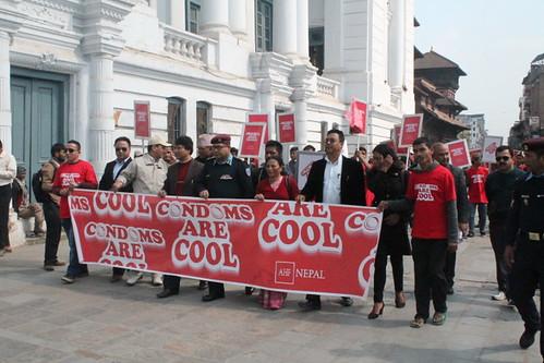International Condom Day 2015: Nepal