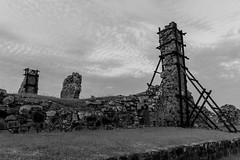 Panama Viejo ( ) Tags: torre iglesia paisaje bn paseo ruinas panama antiguo piedras nikond3100