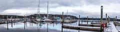 Robinhood Harbor (Me in ME) Tags: panorama snow harbor maine georgetown robinhood lightroom6