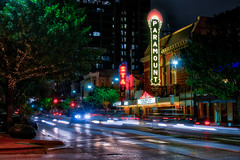 The Paramount (Jim Nix / Nomadic Pursuits) Tags: architecture austin downtown cityscape texas sony streetscene warehousedistrict lighttrails bluehour hdr 6thstreet lightroom paramounttheater nomadicpursuits macphun jimnix sonya7ii aurorahdrpro