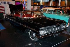 1959 Chevrolet Impala (910 UXT) 5700cc - Classic Motor Show 2015 - Birmingham NEC (anorakin) Tags: chevrolet birmingham impala 1959 nec 2015 classicmotorshow 5700cc lancasterinsurance 910uxt