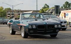 1970 Pontiac GTO Judge Convertible (RudeDude2140a) Tags: blue classic car convertible judge pontiac gto 1970
