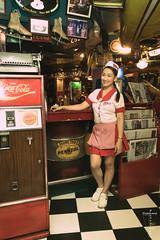 Cherry -7731 (Andr Scherpenberg-Dedsharp Photography) Tags: woman holiday bar vintage philippines filipina makati waitress fillingstation 2016 filipijnen vintagebar padreburgosstreet philippinephotographicsociety