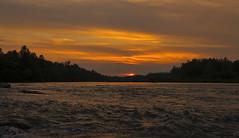 river sunset ... (proffkom_) Tags: vintage 50mm asahi takumar f14 ukraine analogue manual smc  prut    bukovina      retrolens