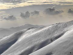 Nubi sul Mottarone (marco boff) Tags: sunset cloud mountain tramonto cielo neve lagomaggiore verbano nubi stresa mottarone vergante leefilters