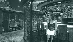 a commenter (photophil16) Tags: sexy bar noir top mini jupe xxx kermesse blanche blanc pute vide salope