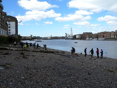 View upstream (Thames Discovery Programme) Tags: london archaeology training community riverthames rotherhithe thamesdiscoveryprogramme fsw03