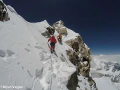 001-Arribant al fals Cim-Arjun (ferran_latorre) Tags: nepal summit alpinismo montaa makalu cumbre ferranlatorre cat14x8000 hanswenxl arjunvajpai boyanpetrov
