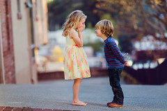 Surprise. (www.sergeybidun.com) Tags: boy portrait girl children kid child models