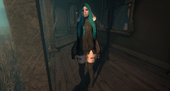 021. Oh Lord, Never Again. (fashionmaul) Tags: male fashion hoodie lift cross nun sl secondlife second femboy