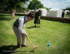1611b History Festival-119 (Derek Barrett) Tags: croquet historyfestival mkmuseum vintagemgcar