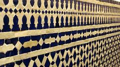 Zellij Tile 08 (macloo) Tags: geometric tile morocco fes zellij