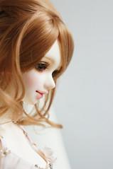 Sweet Unoa Latea (little  lovelies) Tags: pink set ball doll skin lace silk faceplate collection fairy short bjd resin aki auc zero default 2012 camisole decadent jointed unoa latea quluts wigb