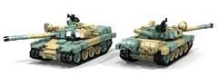 Pridnestrovian T-65mv (ABS doohickies) Tags: tank lego render povray ldd dc6